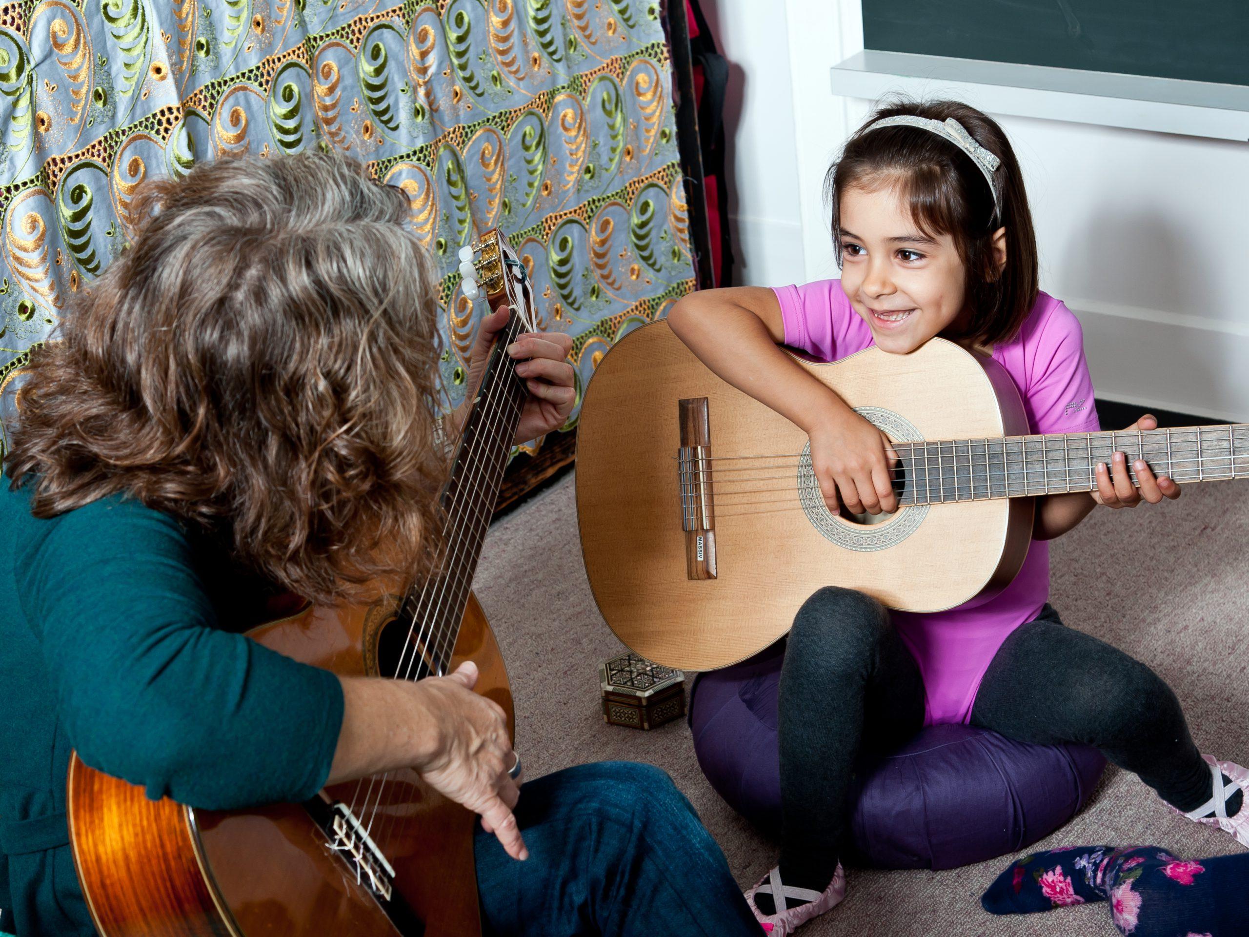 Musiktherapie für Kinder